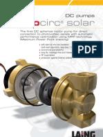 Laing Solar Pump