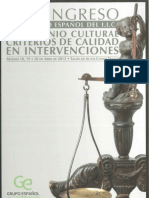 Pasíes, T. et al.  Criterios intervención vidrio arqueológico. GEIIC 2012