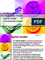 SAD8 Spiral Model and Incremental Model