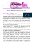 Federacion Docente en La CTA Debates en Ademys 05-11-2012