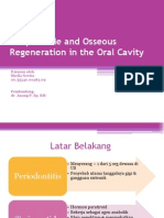 Teriparatide and Osseous Regeneration in the Oral Cavity