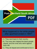 South Africa-- Truth and Reconciliation