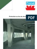 Protection au feu de structures en acier