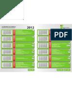 00 - Calendario Academico 2012