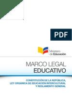 Marco Legal Educativo 2012