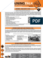 Bitumen Training