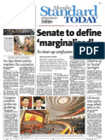 Manila Standard Today - Friday (November 9, 2012) Issue