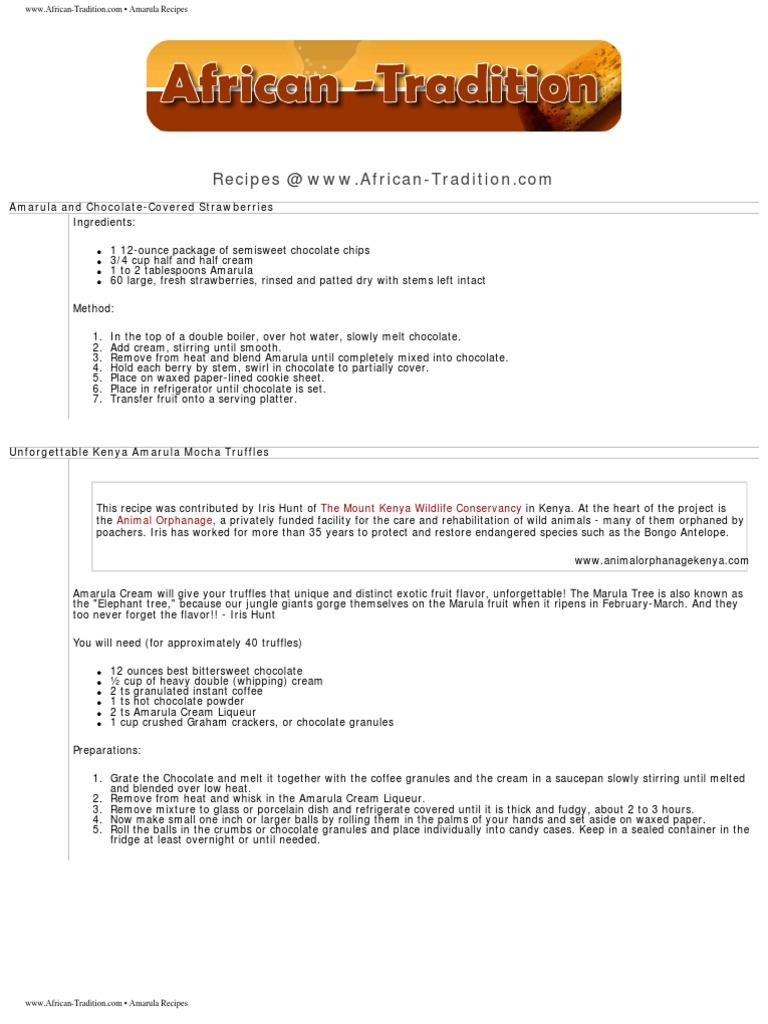 Amarula Recipes | Butter | Cheesecake