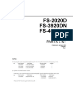 Fs 2020d 3920dn 4020dn Parts List
