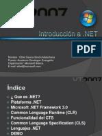 Introd NET