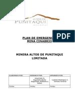 Plan de Emergencia Mina Cinabrio (3er Avance)