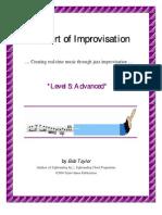 Bob Taylor - Art of Improvisation, 05 Advanced