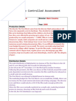 Example Controlled Assessment