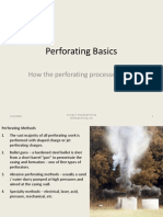 Perforating Basics