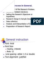 Research Project Student Finale
