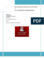 Procedimientos o Registros de Mercancias (Contabilidad)