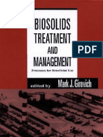 Biosolids Treatment and Management