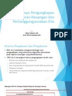 Keharusan Pengungkapan Pelaporan Keuangan Dan Pertanggungjawaban Etis