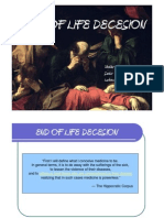 end of life decision ( EOLD)