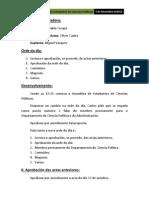 Acta 5 de Novembro Do 2012