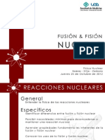 Fusion y Fision Nuclear