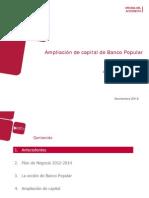 Ampliacion Banco Popular