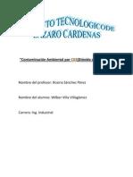 Contaminación Ambiental por C02