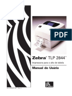 Manual Impressora Zebra TLP2844