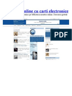 Carti online - Biblioteca online