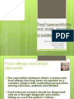 Food Hypersensitivities and Atopic Dermatitis in Toddlers Dic 2011cancun[1]