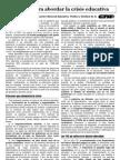 Apuntes Para Abordar La Crisis Educativa Nov-2012