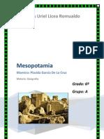 Mesopotamia Significa en Griego