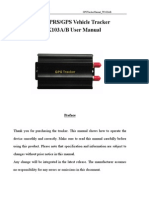 Gps 103 Car Tracker Manual
