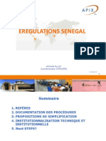 SENEGAL - Realisations