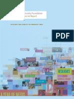 California Community Foundation Financial Report 2011