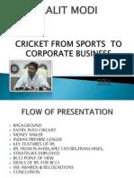 cricketfromsportstocorporatebusiness-111112214357-phpapp01