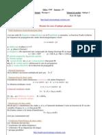Resume Cours Optique Physique 2012 Najib