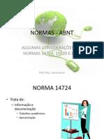 NORMAS - ABNT - 2012