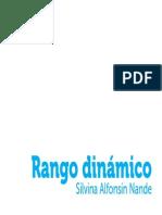 Rango Dinamico - Silvina Alfonsin