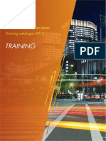 HP TrainingCatalogue Schedule