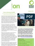 Manchester FoE Newsletter - November 2012