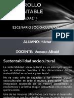 Unidad 3 Desarrollo Socio-cultural