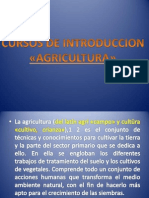 Cursos de Introduccion de La Agricultura. - Copia