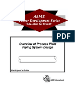 ASME 31.3 [ Process Plant Piping System Design ]