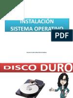 3.0 - DISCO DURO (INSTALACIÓN DE SISTEMA OPERATIVO)