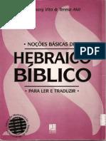 47928585 Nocoes de Hebraico Biblico