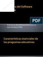 Estructura Del Software Educativo