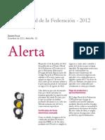 Alerta Codigo Fiscal Fedral 2012