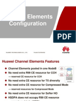 Case Study of Channel Element Configuration