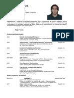 CV Camilo Acostaweb